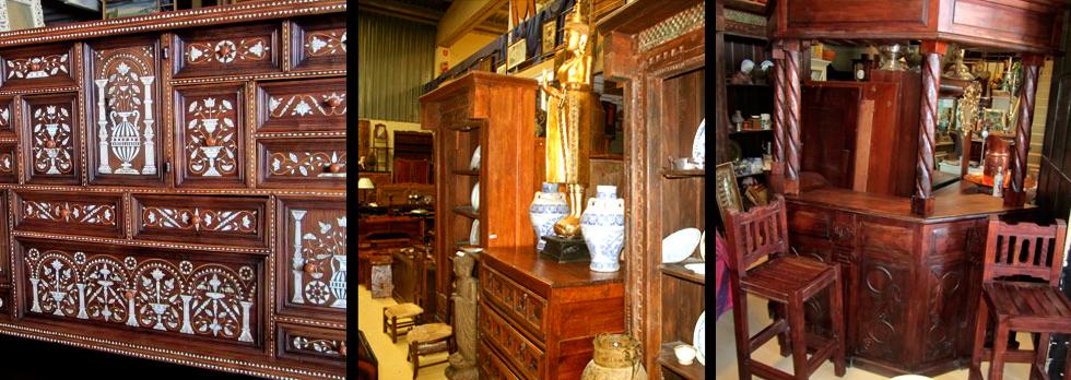 Muebles y antig edades la rueca venta de antiguedades for Muebles viejos baratos